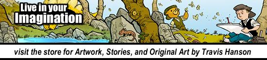 travis hanson art store photo comic book webcomic