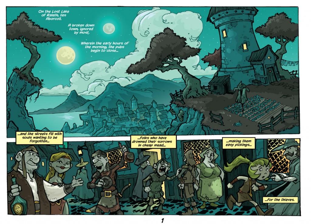 trav's other webcomic idea test page 1